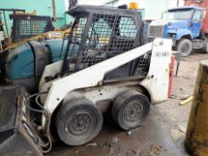 BobCat skid steer, mod. 753, ser. no. 515815267, ROPS, diesel