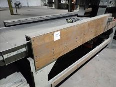"""Shaker conveyor, approx. 30"""" x 12', 2 x 1 hp (Subject to confirmation. The winner will be determined"""