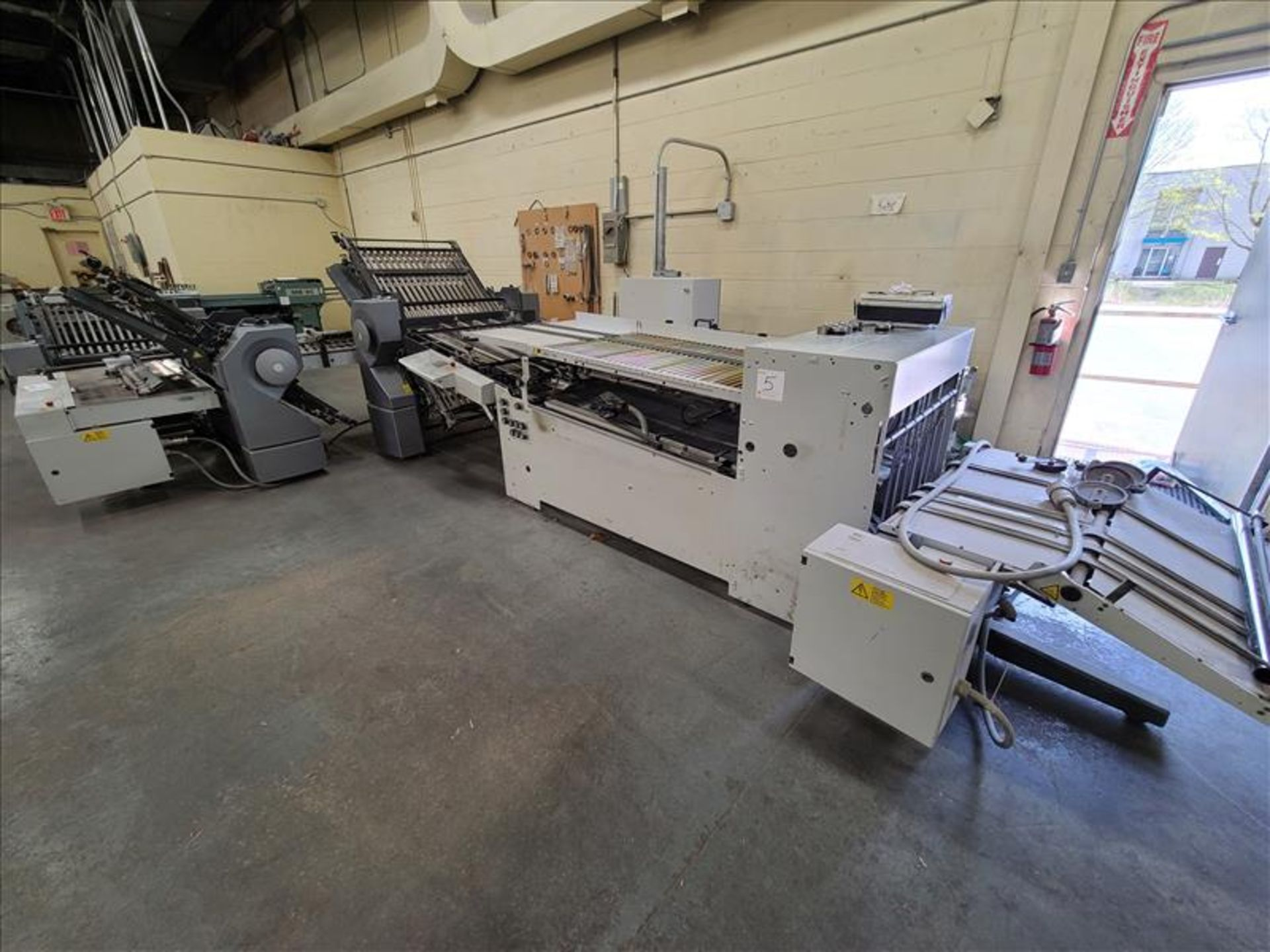 Heidelberg Stahlfolder Folding Machine, model SPH-70, S/N. FH-DLA0-00369, w/ 2.5' infeed - Image 2 of 8