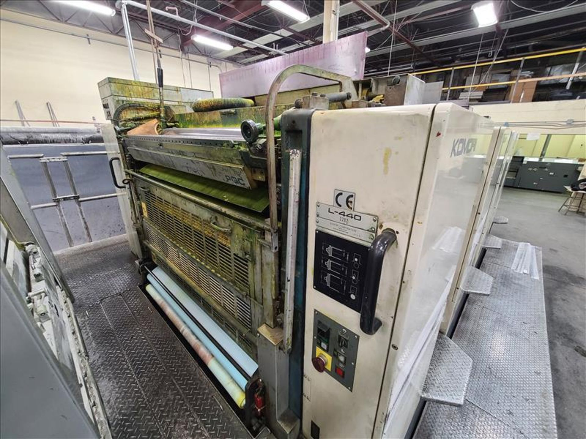 Komori 4-color offset printing press, Series Lithrone 40, model L-440, S/N.2202 approx. 68 - Image 3 of 22