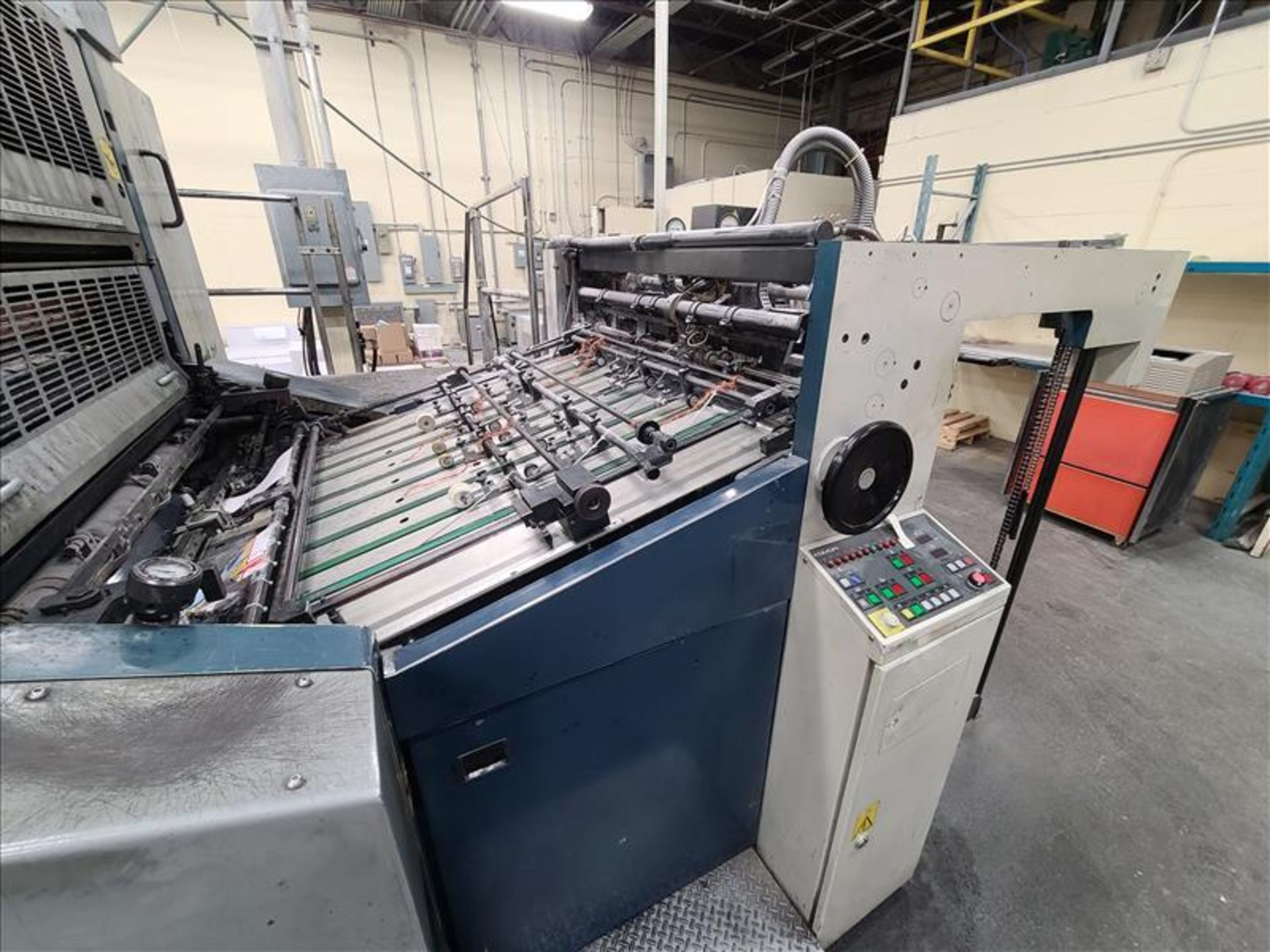 Komori 4-color offset printing press, Series Lithrone 40, model L-440, S/N.2202 approx. 68 - Image 7 of 22