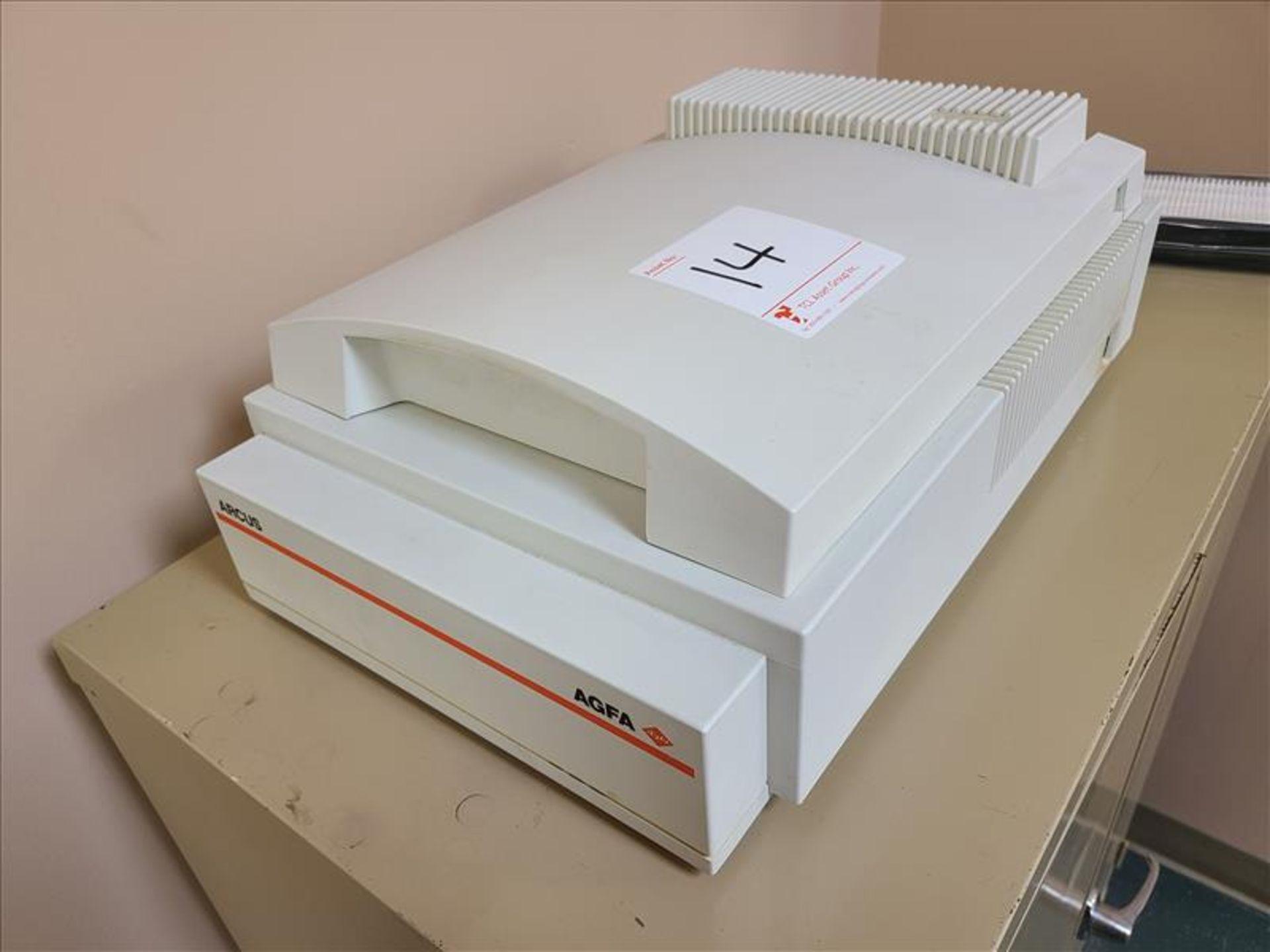 Agafa Scanner, model ARCUS, S/N.FX014-6806227, 120-240V, 50-60 Hz, 1 amp