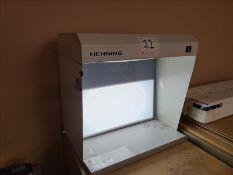 Henning Graphic Design Light, model TR 119, 120V, 2.6 amps