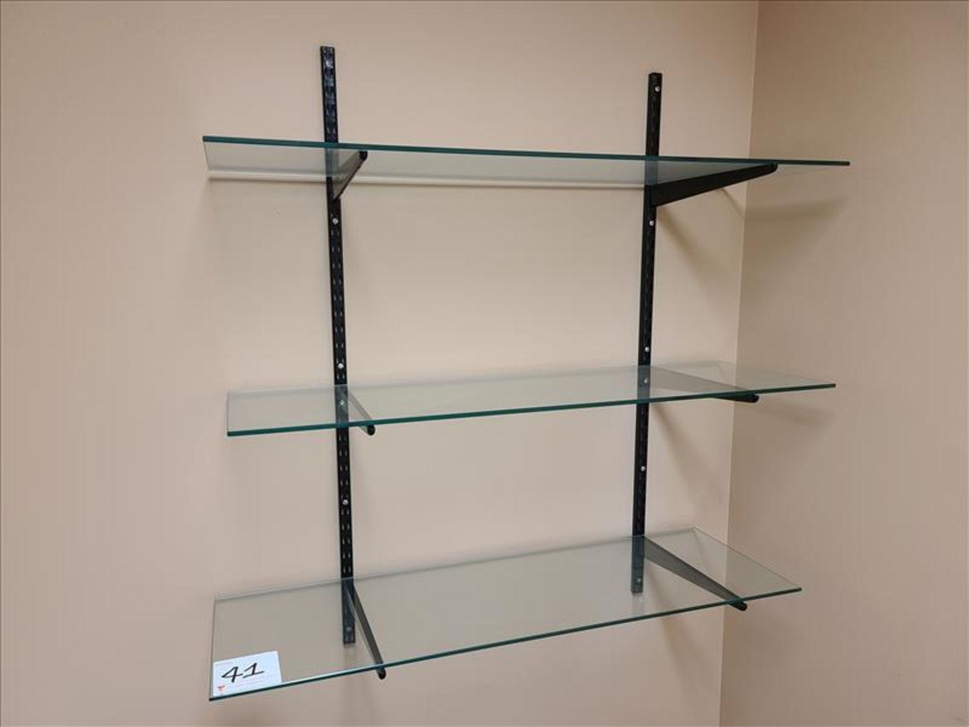 3 Tier Adjustable Tempered Glass Shelf