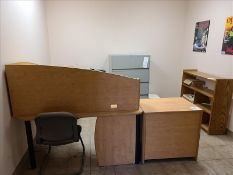 Office Furniture (Filing Cabinet not Included)