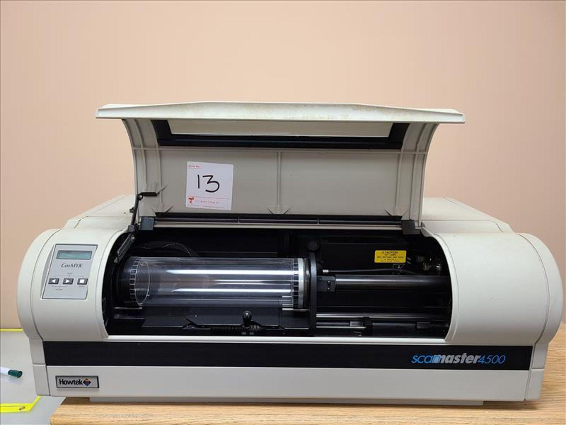 Howtek Drum Scanner, Scanmaster 4500, model D4000-02, S/N. S51010HC, 100-240V, 3 amps, 50Hz