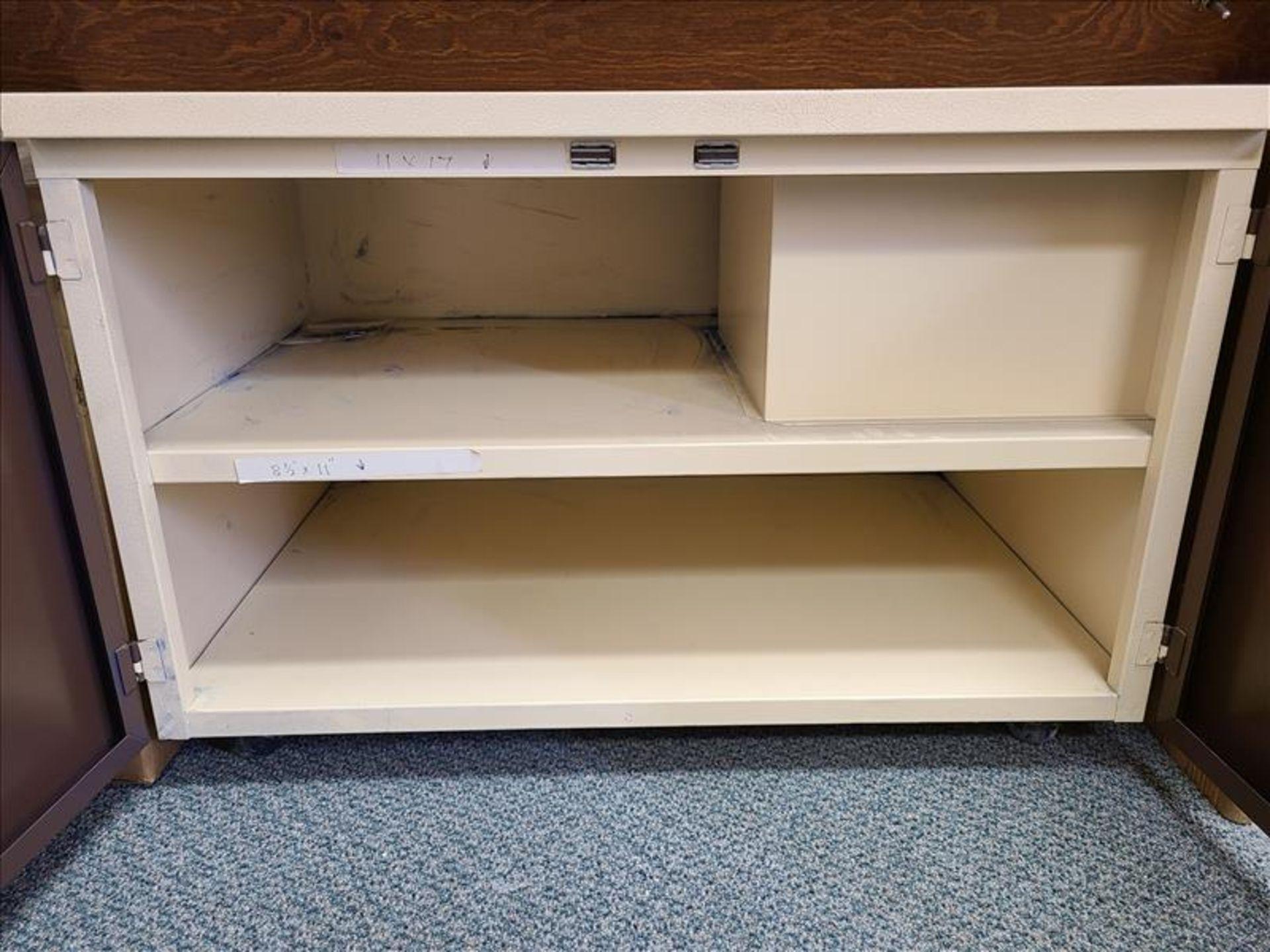 2 Door Metal Cabinet - Image 2 of 2