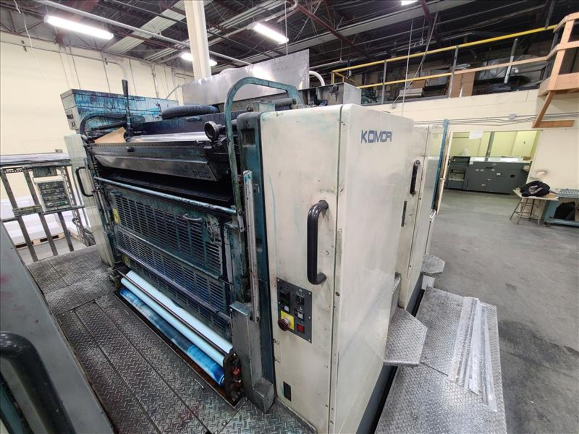 Komori 4-color offset printing press, Series Lithrone 40, model L-440, S/N.2202 approx. 68 - Image 5 of 22