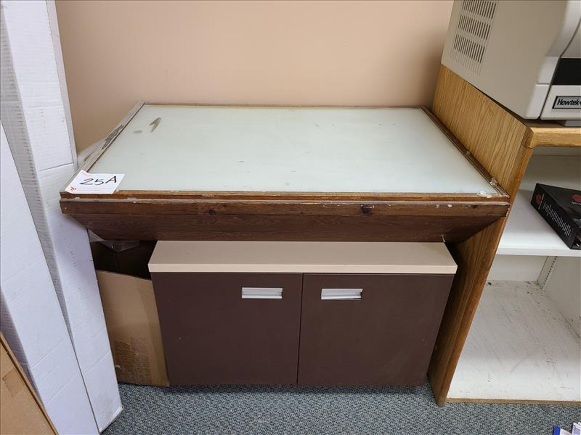 Small Drawing Table w/built in lightbox