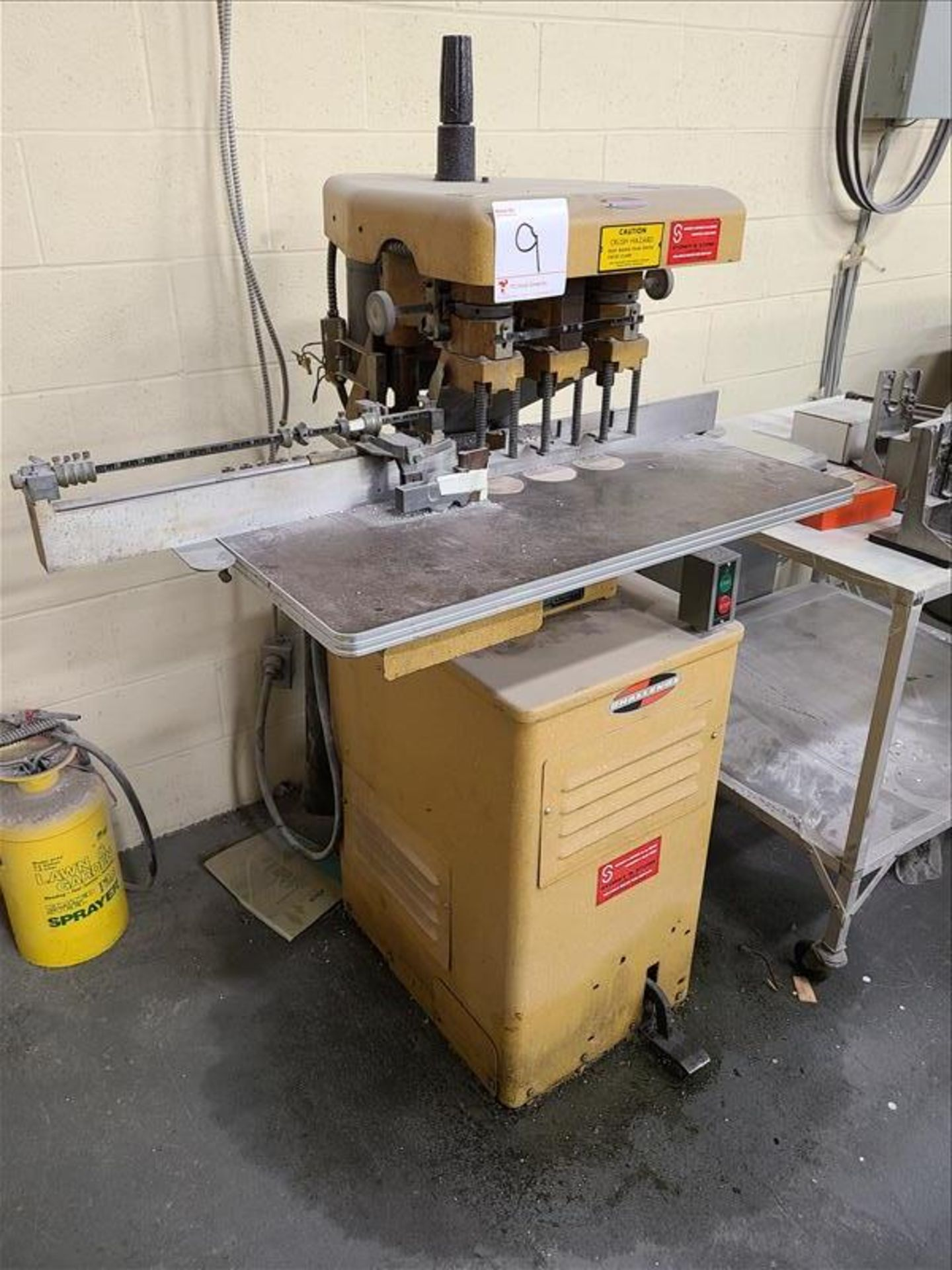 Challenge Paper Drill, model EH-3, S/N.42184, 230V, 17 amps, 1 Phase, 60 Hz