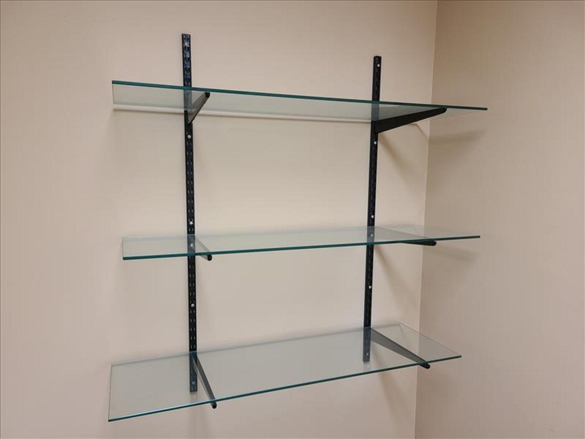 3 Tier Adjustable Tempered Glass Shelf - Image 2 of 2