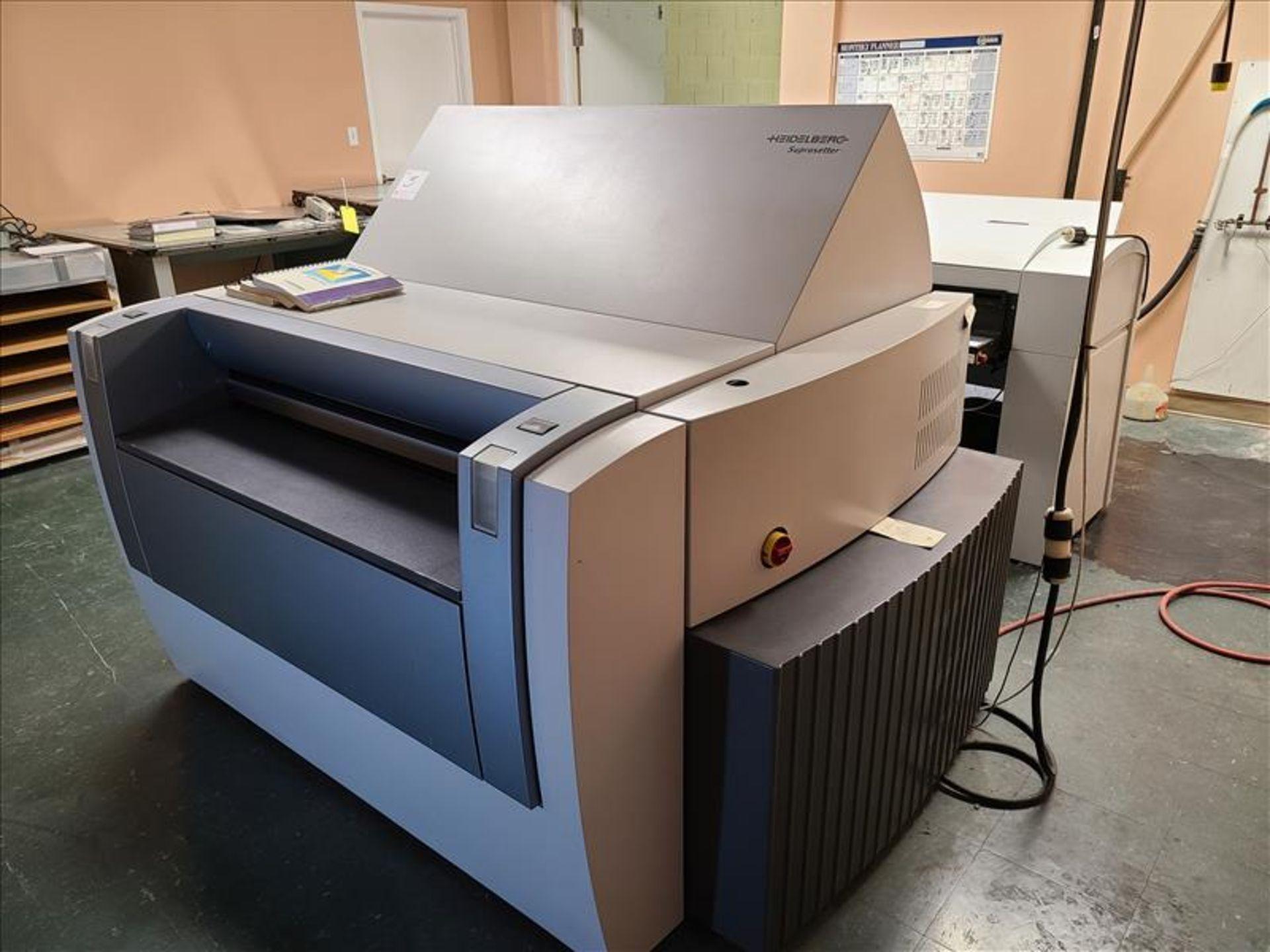 Heidelberg Plate Setter w/auto plate loading, model Suprasetter 105, S/N. PL00052 (2005) 200-240V, - Image 2 of 8