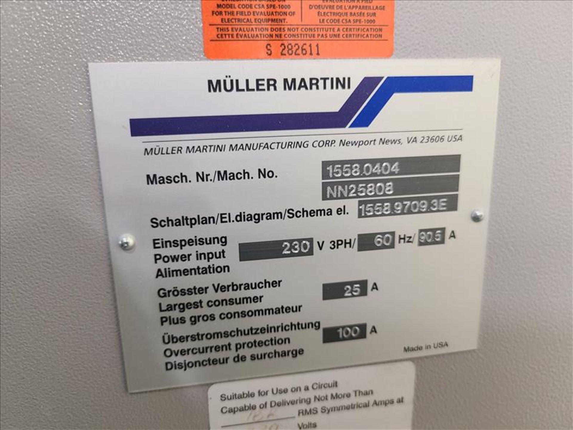 Muller Martini,Valore, 8 Station Saddle Stitcher, model 1558.0404, S/N.NN25808, 230V, 3 Phase, - Image 5 of 13