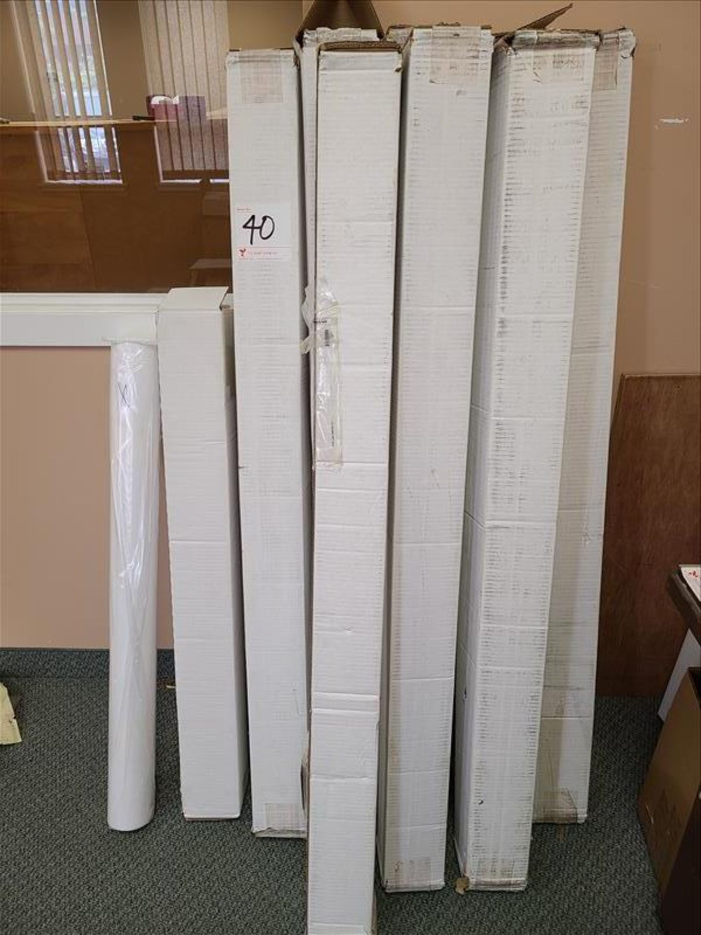Misc. Lot Rolls of Paper