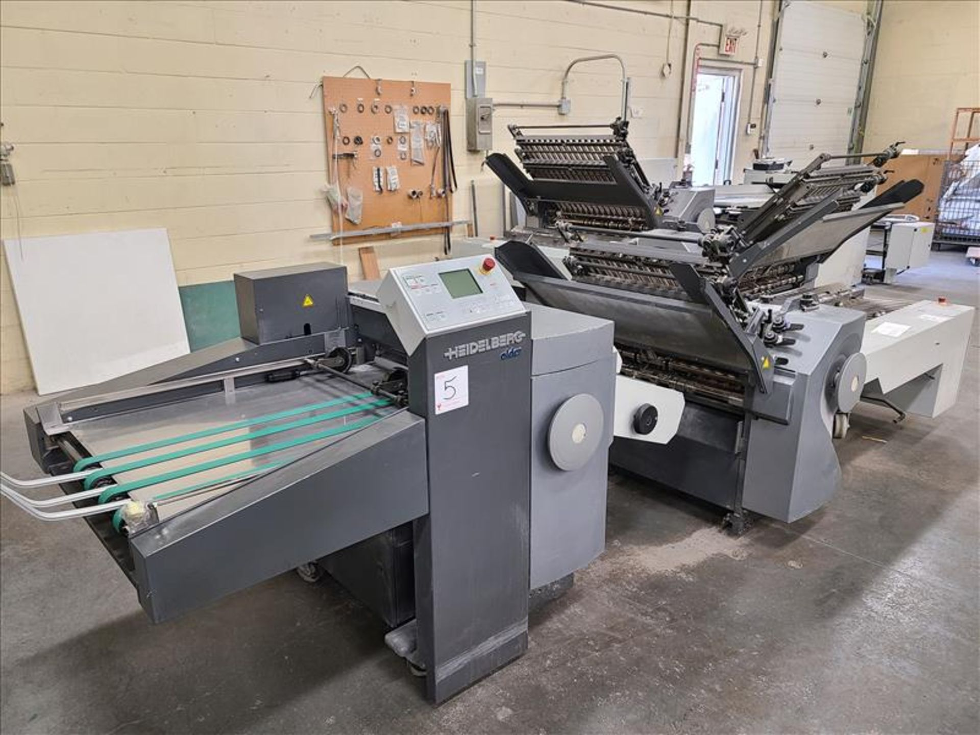 Heidelberg Stahlfolder Folding Machine, model SPH-70, S/N. FH-DLA0-00369, w/ 2.5' infeed - Image 5 of 8