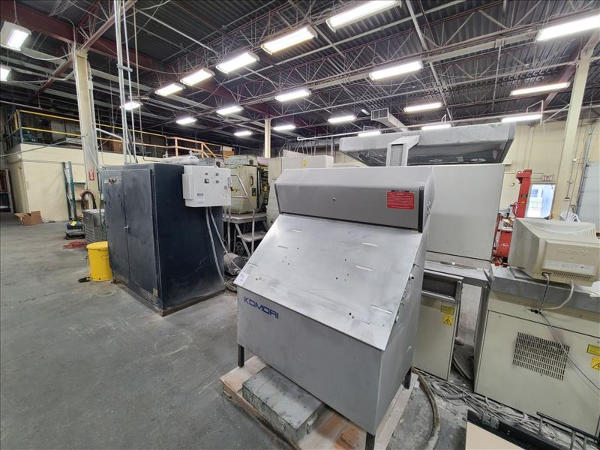 Komori 4-color offset printing press, Series Lithrone 40, model L-440, S/N.2202 approx. 68 - Image 11 of 22