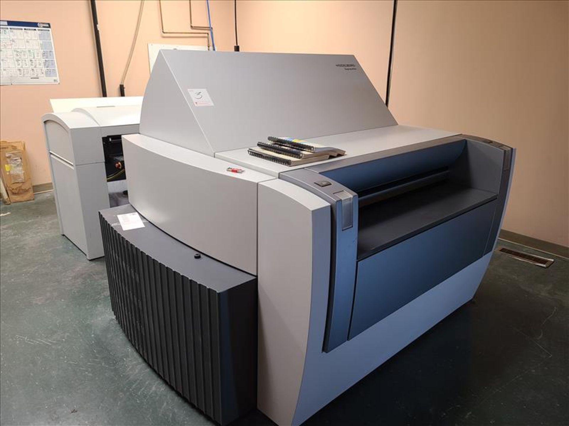 Heidelberg Plate Setter w/auto plate loading, model Suprasetter 105, S/N. PL00052 (2005) 200-240V,