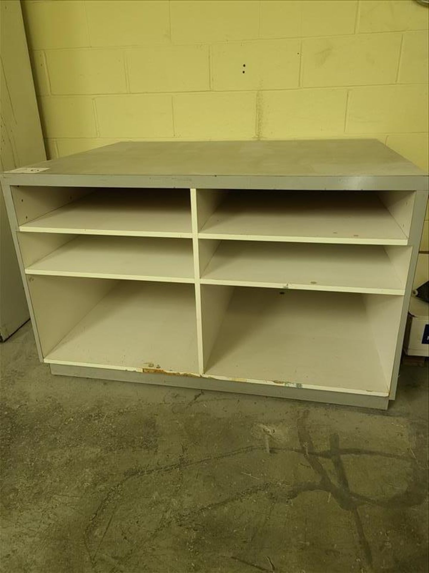 "Paper Storage Unit, 38"" x 48"" x 32"""