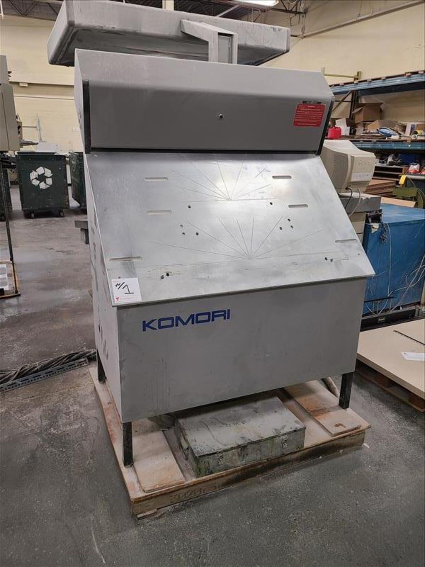 Komori 4-color offset printing press, Series Lithrone 40, model L-440, S/N.2202 approx. 68 - Image 12 of 22