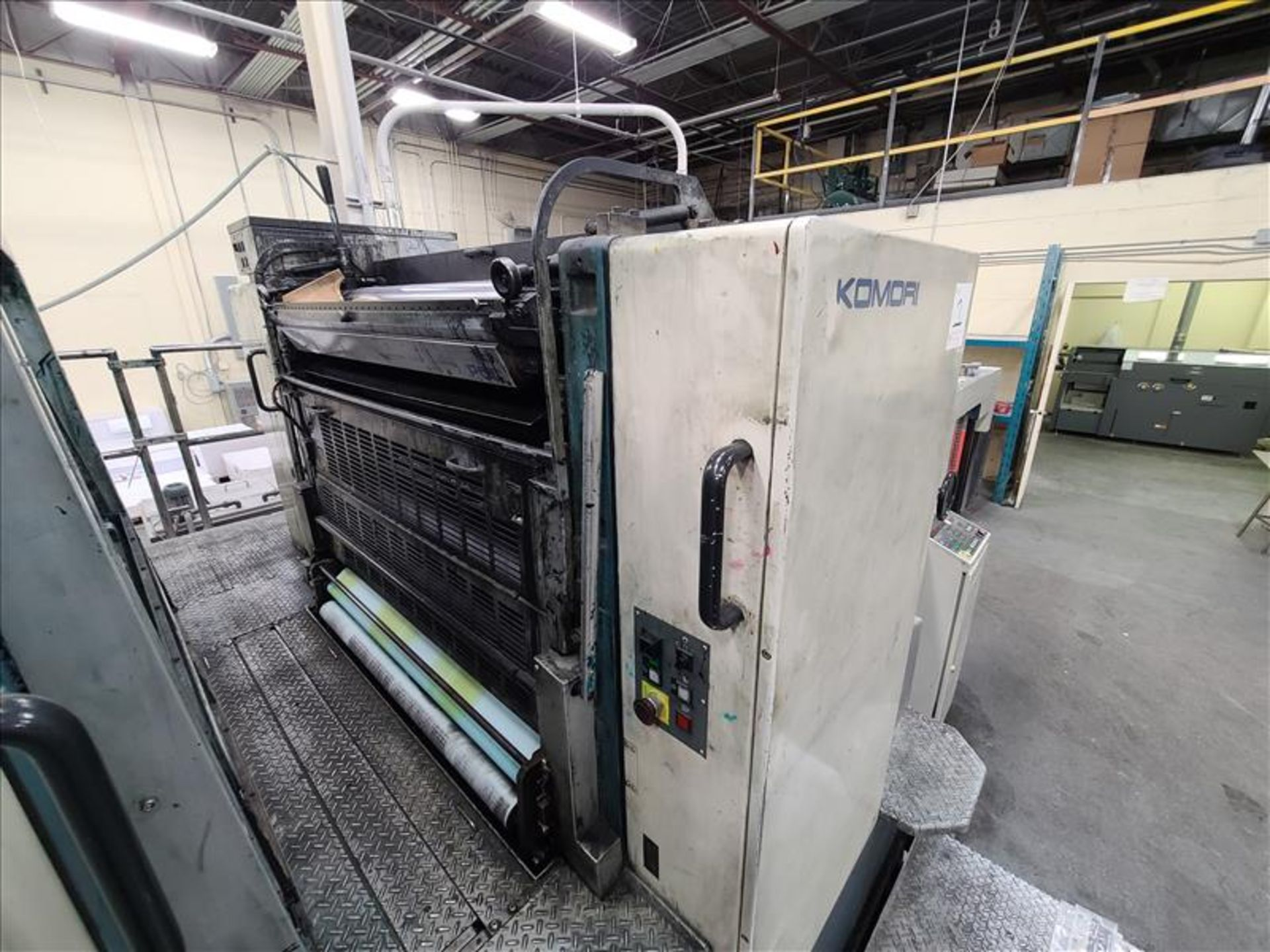 Komori 4-color offset printing press, Series Lithrone 40, model L-440, S/N.2202 approx. 68 - Image 6 of 22