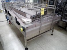 accumulation table, approx. 5' x 9', 1 hp + 3/4 hp, (2) VSD, multi-directional (Subject to