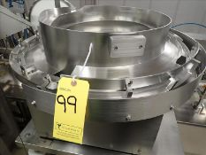 FeedRite Automation vibratory feeder, s/s, 18 in. dia. (Subject to confirmation. The winner will