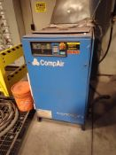 CompAir rotary screw air compressor, 25 hp (not working, for parts only) , mod. C218-8.2, ser. no.