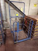 high-work safety cage, 800 lbs. cap.