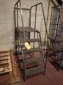 "warehouse ladder, 48"" H"