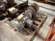 spare motor, 20 hp for extruder (Subject to confirmation. The winner will be determined based on the
