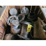[LOT] Stainless flanges in (2) crates [Storage Shed]