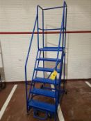 6 step safety ladder, mobile [Packaging Warehouse]