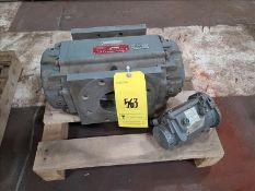 Roots rotary metering valve, mod ILM175, s/n 4290151 [Palletizing Area]