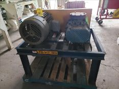 Blower Engineering blower unit, mod SPENCER RB50V, s/n 895022R, with 30 hp motor [Storage Shed]