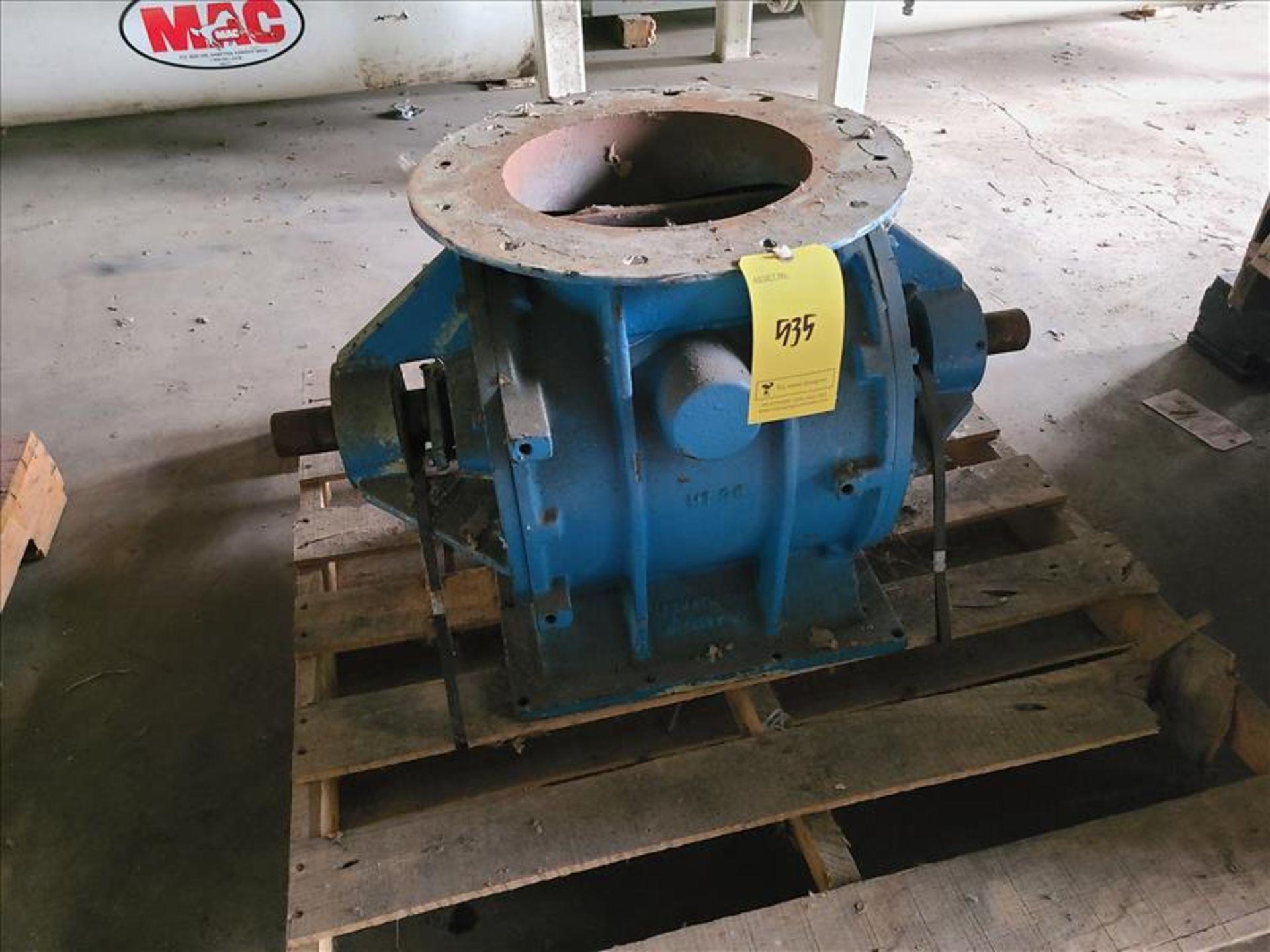 "Rotary valve, 12"" x 6"" [Storage Shed]"
