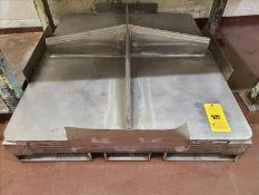 Stainless lump breaker plate [Packaging Warehouse]
