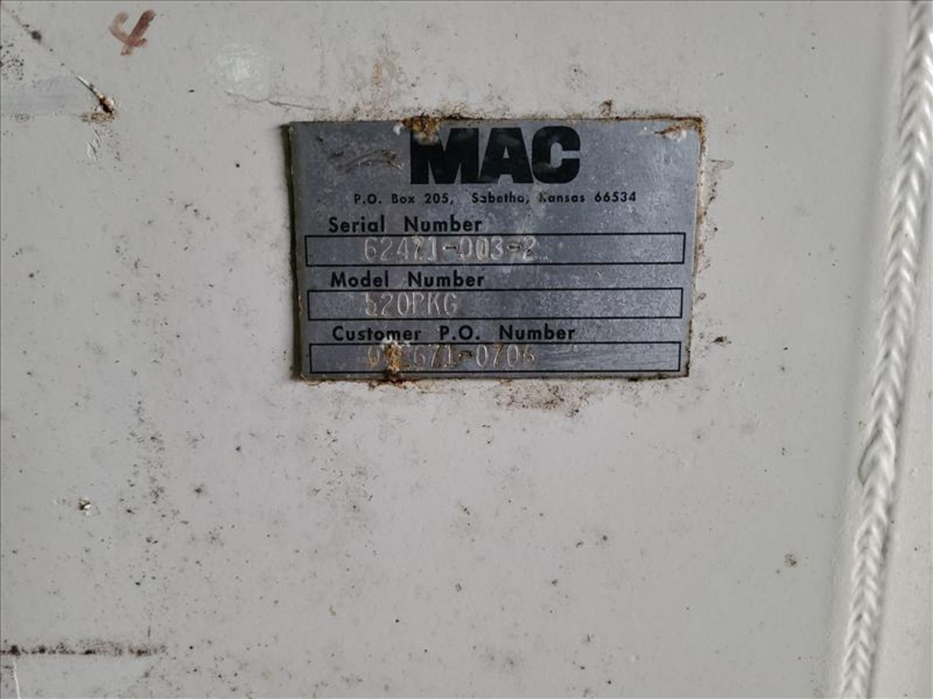[LOT] (3) MAC stand/frames, with muffler [Storage Shed] - Image 5 of 7