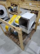 NVB blower unit, mod 1755T304, with 3 hp motor [Packaging Warehouse]
