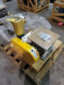 Schenck rotary valve, mod MD 40, s/n 1100350769-020-3, with motor [Packaging Warehouse]