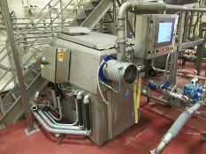 CFS stainless emulsifier, mod ECOCUT 225, s/n 67522, 150 kw hp, 575 v, with stainless table, with