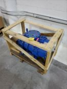 Blower Engineering rotary blower, mod TLRB70DLP, s/n 97706409, 70 cfm capacity [Packaging