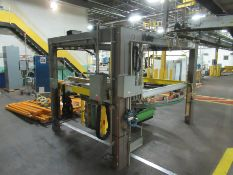 ITW Miller pallet stretch wrapper, mod 808 Octopus, s/n E7310108 (disassembled) [Palletizing Area]