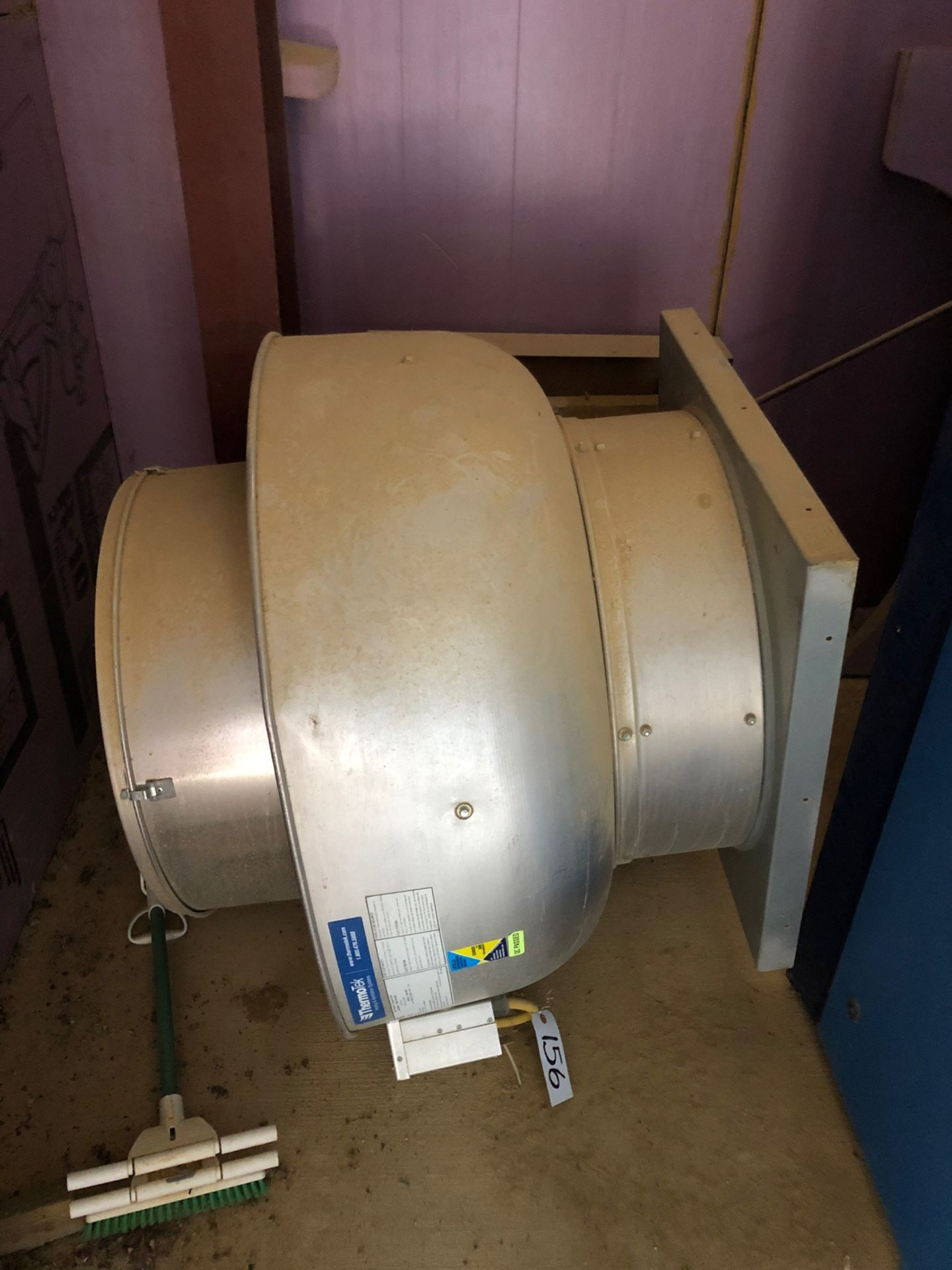 ThermoTek Exhaust fan; model #BDU18TH (In compressor Shed) - Subj to Bulk