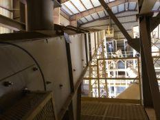 """American Bin & Conveyor Model 24x79 24"""" x 78' Power Belt Conveyor, S/N 14-613, Asset - Subj to Bulk"""