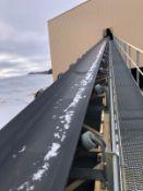 """American Bin & Conveyor Model 36x147 36"""" x 140' Power Belt Conveyor, S/N 14-603, Asse - Subj to Bulk"""