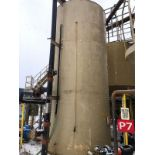"15,000-Gallon Carbon Steel Water Tank; with;6"" x 5"" Centrifugal Pump, 50 hp; and Kroh - Subj to Bulk"