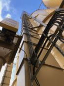 "American Bin & Conveyor 16"" x 8"" x 125' Bucket Elevator, Asset #BE4, 40 hp; Each with - Subj to Bulk"