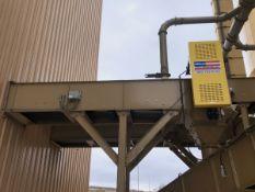 """American Bin & Conveyor 24"""" x 76' Power Belt Conveyor, Asset #C03, 7.5 hp; Elevated S - Subj to Bulk"""