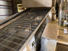 Peerless 4' x 12' Single Deck Vibratory Screen, S/N 28738, (2014), 10 hp; Elevated Pl - Subj to Bulk