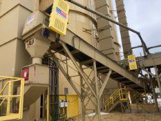 """American Bin & Conveyor 24"""" x 40' Power Belt Conveyor, Asset #C06, 7.5 hp; Stationary - Subj to Bulk"""